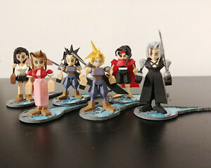 Final Fantasy 7 3D PLA Printed Miniatures Figurines with stand - Sephiroth