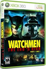 new the Watchmen: The End is Nigh Parts 1 and 2 Microsoft Xbox 360 SEALED Game