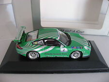 1/43 PORSCHE DEALER Minichamps PORSCHE 911 997 GT3 CUP display green