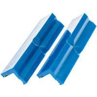 Schutzbacken für Schraubstock Schonbacken 1 Paar Kunststoff Backen mit Magnet