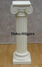 Antik Säule Blumensäule Tisch Design Barock Säulen Stuckgips  Deko 1048 Crem