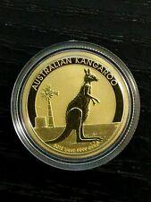 2012 kangaroo 1/4 oz gold coin 9999 Perthmint bullion Australia