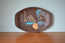 Vintage Bessemer plastic serving plate mid century picnic  PT2