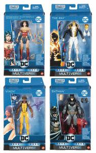 DC Comics Multiverse 6 Inch Lex Luthor Series - Set of 4 (BAF Lex Luthor)