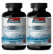 Lower Blood Pressure - Water Away Pills 700mg -100% Natural Blend of Vitamins 2B
