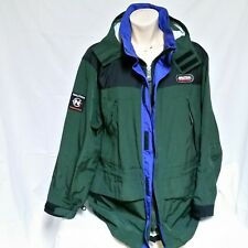 VTG Nautica Competition Ski Coat Colorblock Jacket 90s Sailing Spell Out XXL 2XL