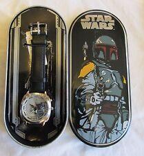 Fossil Boba Fett Watch Star Wars Limited Edition - Bounty Hunter ROTJ ESB