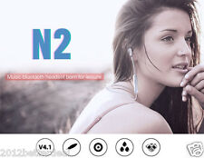 Bluedio N2 Sports Gym Stereo Bluetooth V4.1 Hands Free Earphone Dual Noise Mic