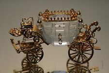 Swarovski Crystal Memories Gold Trim Journeys 220496 Carriage MINT in Box
