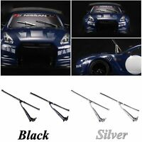 Metal Front Windshield Wipers Blades For 1/10 Tamiya MST Yokomo YD2 DJX-9023 RC