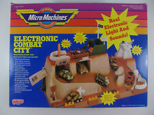 MICRO MACHINES ELECTRONIC COMBAT CITY GALOOB BOX MANUAL VEHICLE TANK
