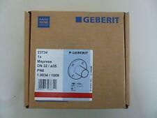 Geberit Mapress Flansch m. Einschubende 23734 35mm DN 32(D=35), PN 6  Neu OVP