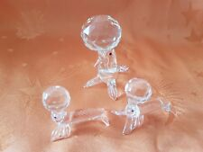 "3 Glasfiguren ""Seehunde""     (Art. K14)"