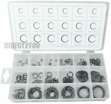 INTERNAL Circlips 180pc Cir Clip Retaining Snap On Ring Assorted Set E 3 to 32mm