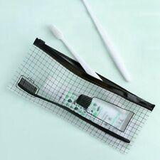 Travel Storage Bag Toothbrush Toothpaste Organizer Waterproof Clear Ziplock Bag