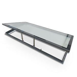 Electronic Opening Skylight for Flat Roof - 1000mm x 1500mm - Double Glazed
