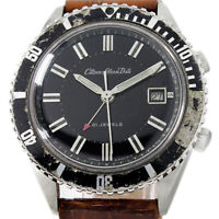 Citizen Alarm Windng Date Very Rare Parawater ALDS 52902-Y Diver Style Watch