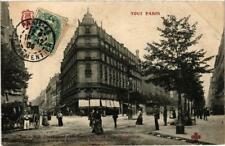 CPA TOUT PARIS (11e) 248 Rue Oberkampf. Avenue de la Republique. (a4529)