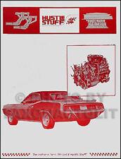 1965 66 1967 1968 1971 Mopar Hustle Cosas Parts Catalog Dodge Plymouth Racing