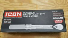 "Icon 3/8"" drive compact click Torque Wrench TW38-200"