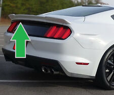"FOR FORD MUSTANG COUPE Un-Painted ""Racing Style"" Rear Spoiler Wing 2015-2018"