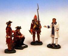 Frontline Figures, French Indian Wars, Britische Offiziere/ Franzose, BPW.3