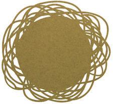 Platzmatte aus Filz  35 cm Pretty taupe AMBITION