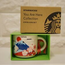 "Starbucks Japan Mug 2oz ""You Are Here Collection"" fuji sakura daruma castle F/S"