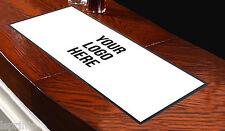 Customised Bar Runner Any Logo White Bar Towel Runner Pub Mat Beer Cocktail