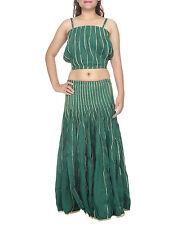 Stripes 100% Cotton Casual Maxi Dresses for Women