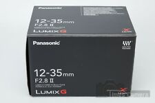 *NEW* Panasonic Lumix G X Vario 12-35mm f/2.8 II ASPH. POWER O.I.S. Lens