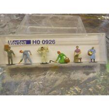 ** Merten H0 0926 Figure Pack Harvest Workers 6 1:87 H0 Scale
