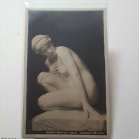 Heinrich Missfeldt Berlin Kauerndes Mädchen Vintage Postcard 1908 252