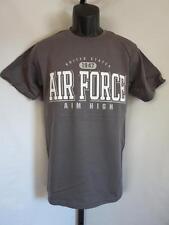 Neuf US Air Force 1947 Aim Haut Hommes Taille Petit (S) Gris Foncé Chemise