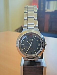 """Vintage SS Omega f300 """"Cone"""" Electronic Tuning Fork watch cal 1250 (ESA9162)"""