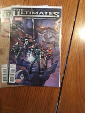 The Ultimates Comic Lot 1-4 1st Ultimates & Life-Bringer Galactus Marvel 2015