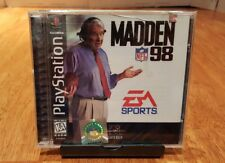 Rare New Factory Sealed! Madden NFL 98 (Sony PlayStation 1, 1997) PS1