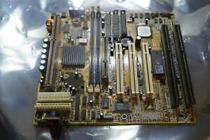 Slot 1 Pentium II III motherboard AGP PCI ISA baby AT ATX PSU Aristo