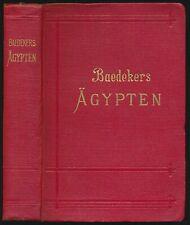Karl Baedeker: Ägypten und der Sudan. Handbuch für Reisende (1913).