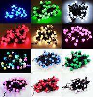 10M/100 Bulbs Cherry Christmas Tree Party Wedding String Fairy LED lights UK