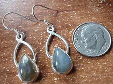 Labradorite Dangle Earrings 925 Sterling Silver Corona Sun Jewelry c75ag