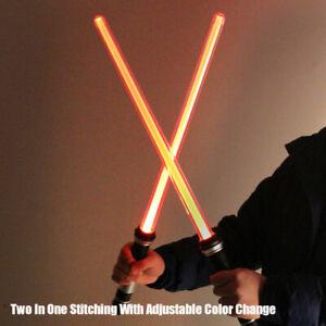 Lightsaber Toy Saber Luminous Jedi Sabre Laser Sword LightUp Flashing Lightst I/