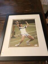John McEnroe Signed Framed 11x14 JSA R37706