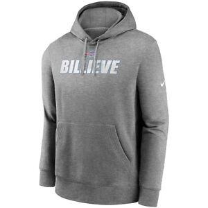 New 2021 NFL Buffalo Bills Nike Fan Gear Local Club Logo Pullover Hoodie NWT BUF