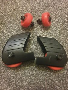 Reebok GT40s ONE Treadmill full set of wheels 2 pairs   genuine official