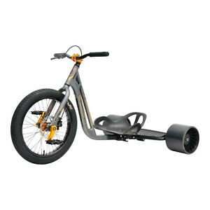 TRIAD Syndicate 4 Grey/Black Drifttrike Dreirad Downhill Drift Trike