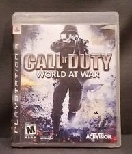 Call of Duty: World at War (Sony PlayStation 3, 2008) PS3 Video Game