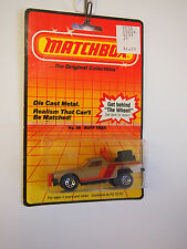 MATCHBOX SUPERFAST RUFF TRUCK NO 58 ON CARD