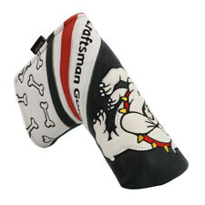Caftsman Golf Black&White Blade Putter Headcover Head Cover-Bulldog Element