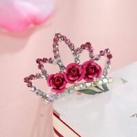 Princess Hairclip Crown Hairpin For Girls Kids Gift Hair Jewelry Hair Comb